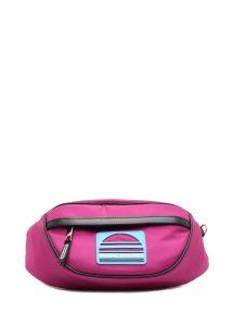 Pembe bel çantası