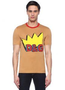 Dolce&Gabbana beyaz logolu sweatshirt