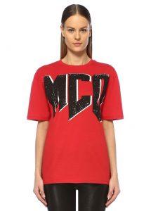 kırmızı mcq tişört