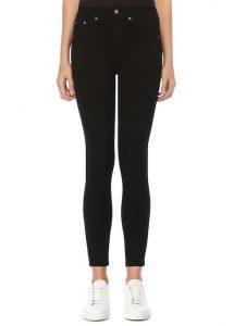 RAG&BONE Nina Siyah Yüksek Bel Skinny Jean Pantolon