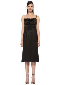 versace virtus kahverengi logolu kadın deri bel çantası