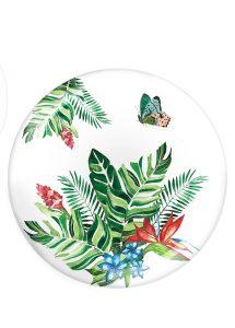 fernco 4lü butterfly collection büyük tabak seti