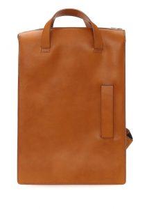 le feuillet taba erkek deri sırt çantası