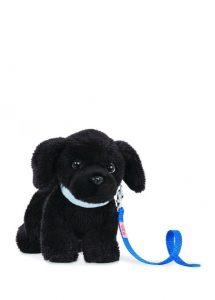 Siyah oyuncak peluş köpek