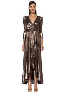 Retrofete bronz elbise